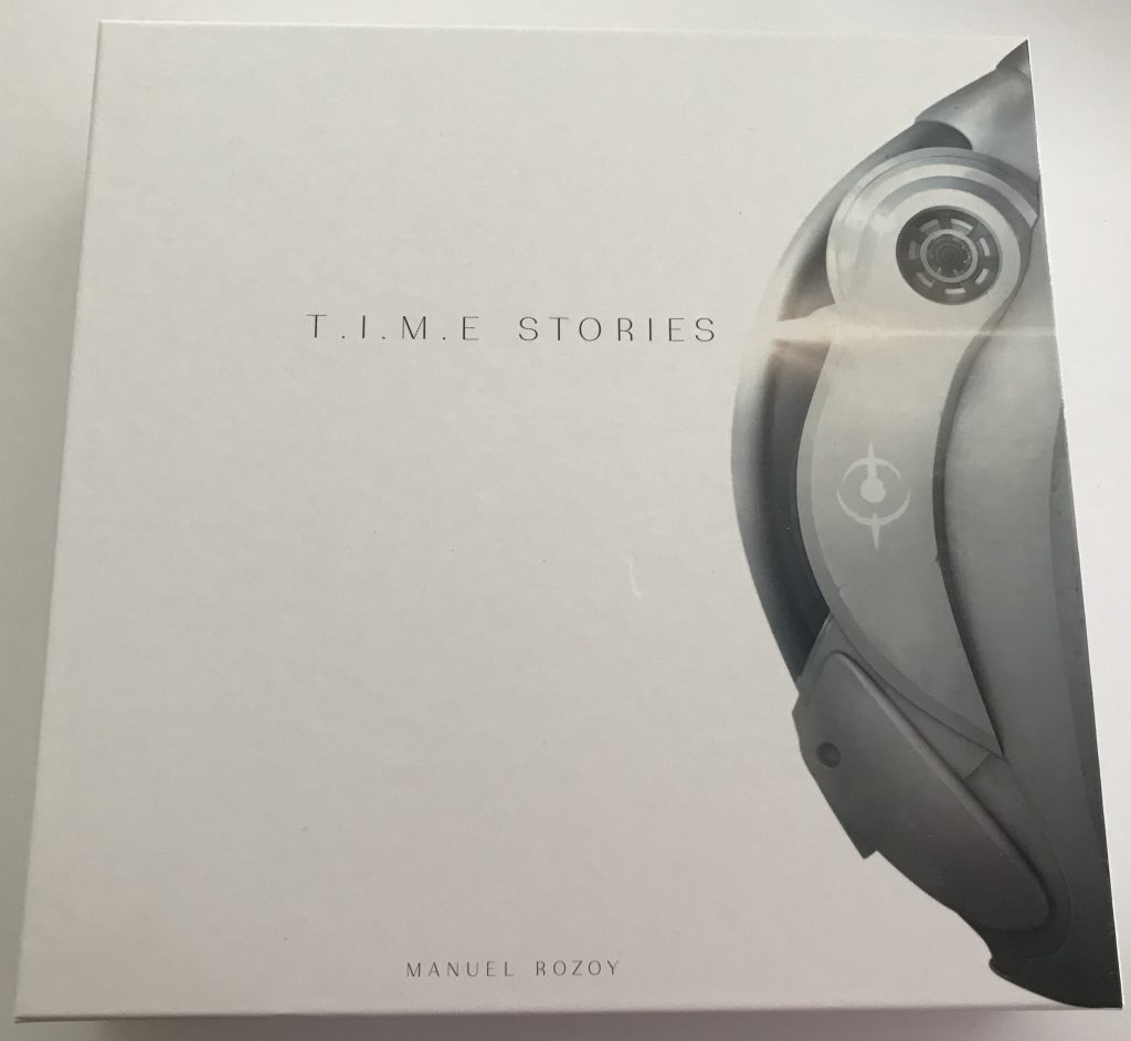 TIME Stories game box