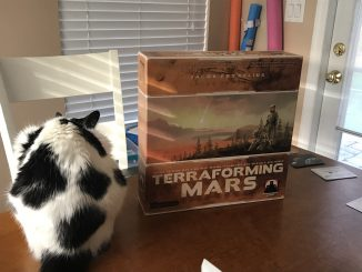 Favorite SciFi Game Terraforming Mars